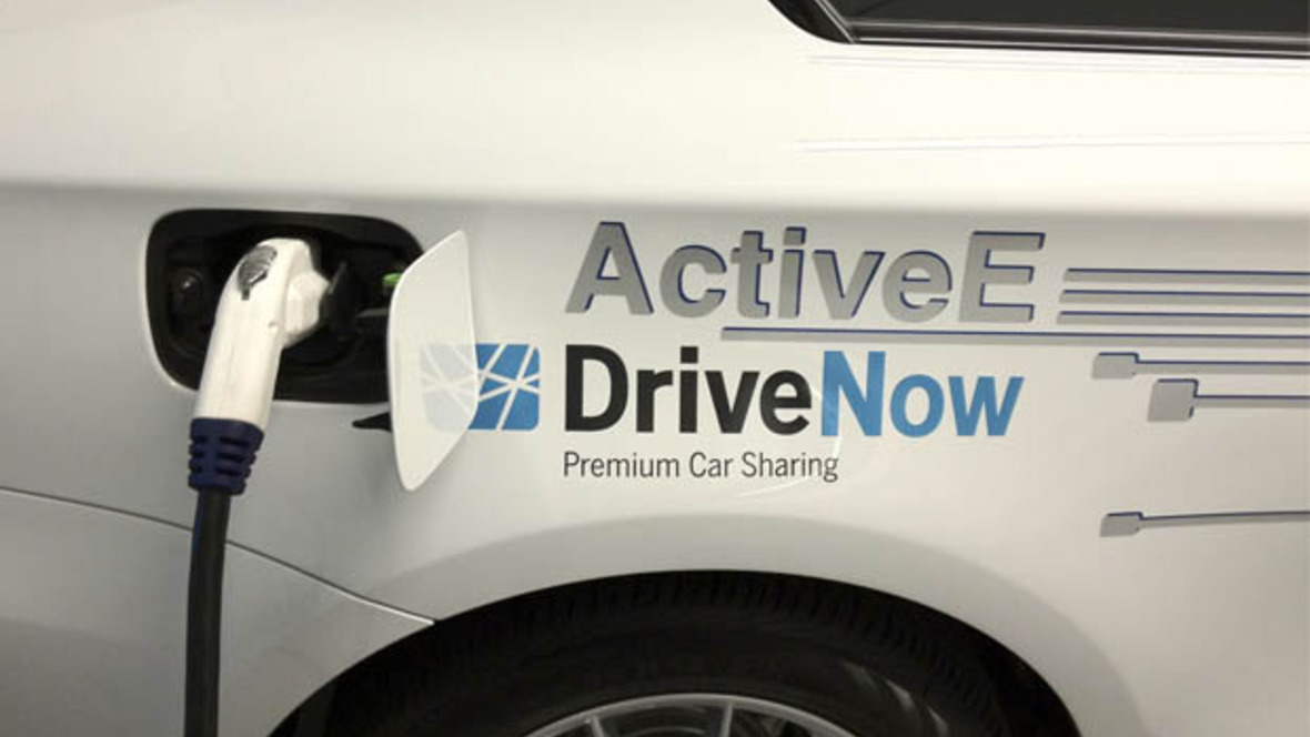 E-Carsharing bei DriveNow