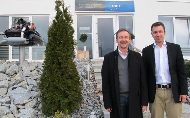 Anton Donnerbauer und Hannes Falk von TOHA