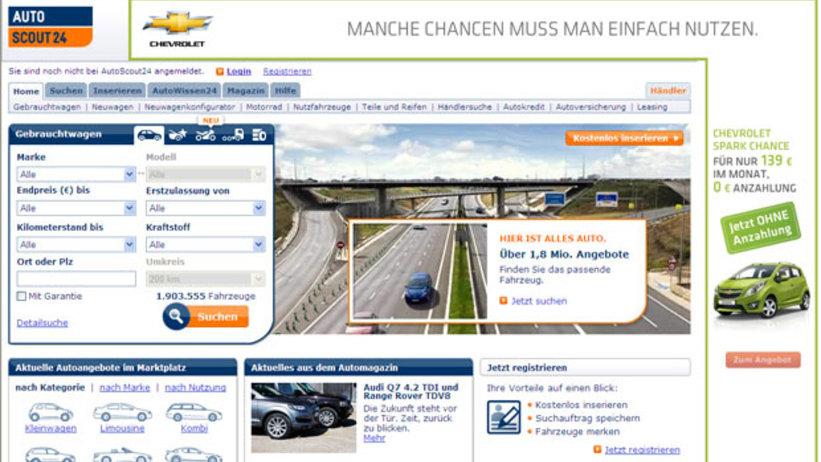 autoscout24 händler login