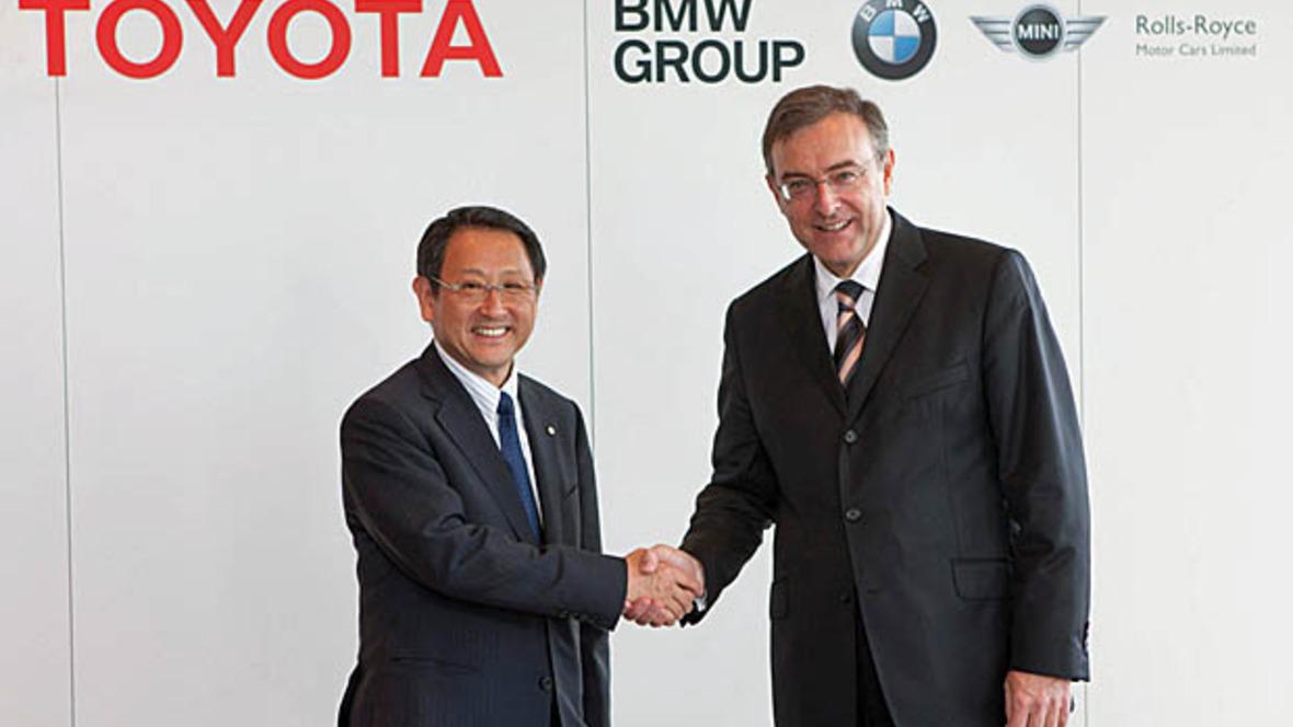 Akio Toyoda und Norbert Reithofer