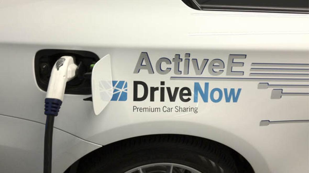 E-Carsharing bei DriveNow