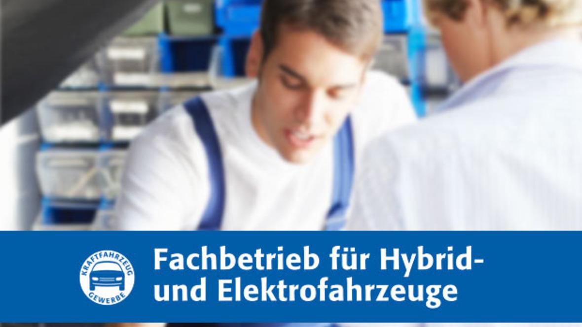 Fachbetrieb für Hybrid- und Elektrofahrzeuge