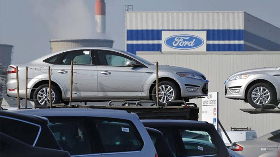 Ford-Werk im belgischen Genk