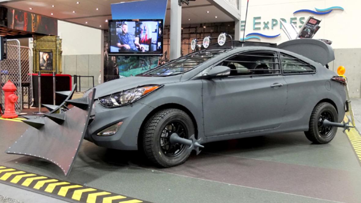 Hyundai Elantra Survival Machine