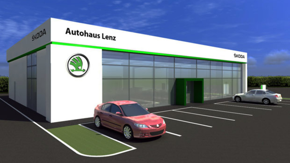 autohaus lenz bald auch mit skoda. Black Bedroom Furniture Sets. Home Design Ideas