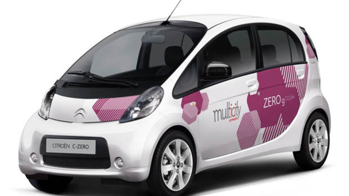 Citroën Multicity Carsharing Berlin