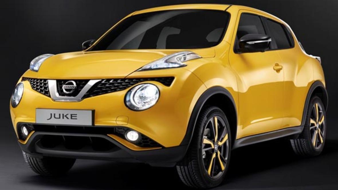 Nissan juke facelift for Bilder nissan juke