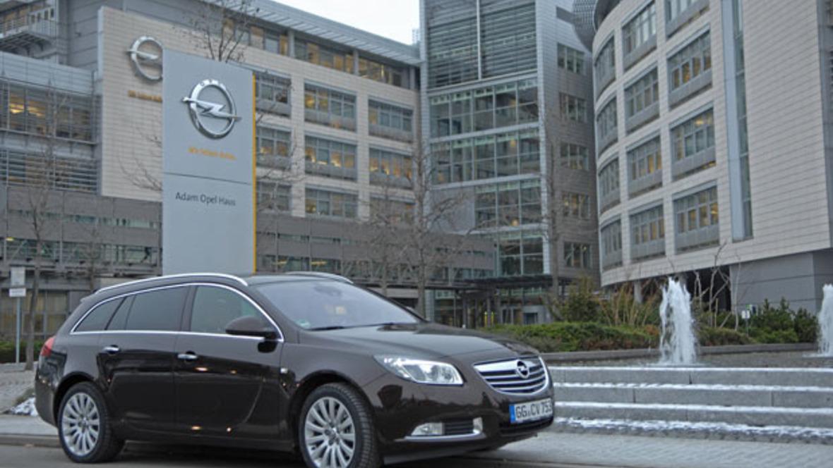 Opel-Firmenzentrale in Rüsselsheim