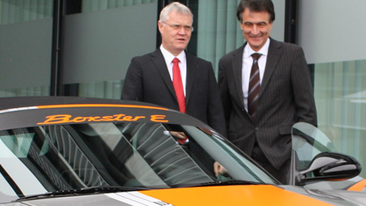 Armin Müller und Gerhard Baum
