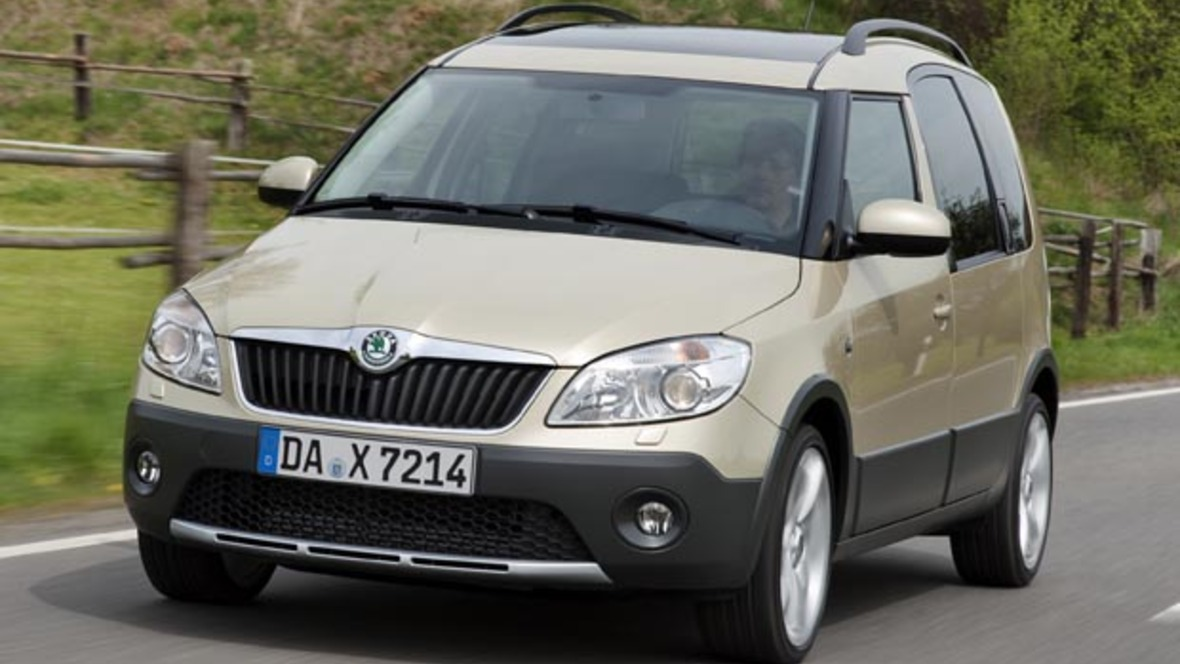 skoda roomster scout mit nachlass. Black Bedroom Furniture Sets. Home Design Ideas