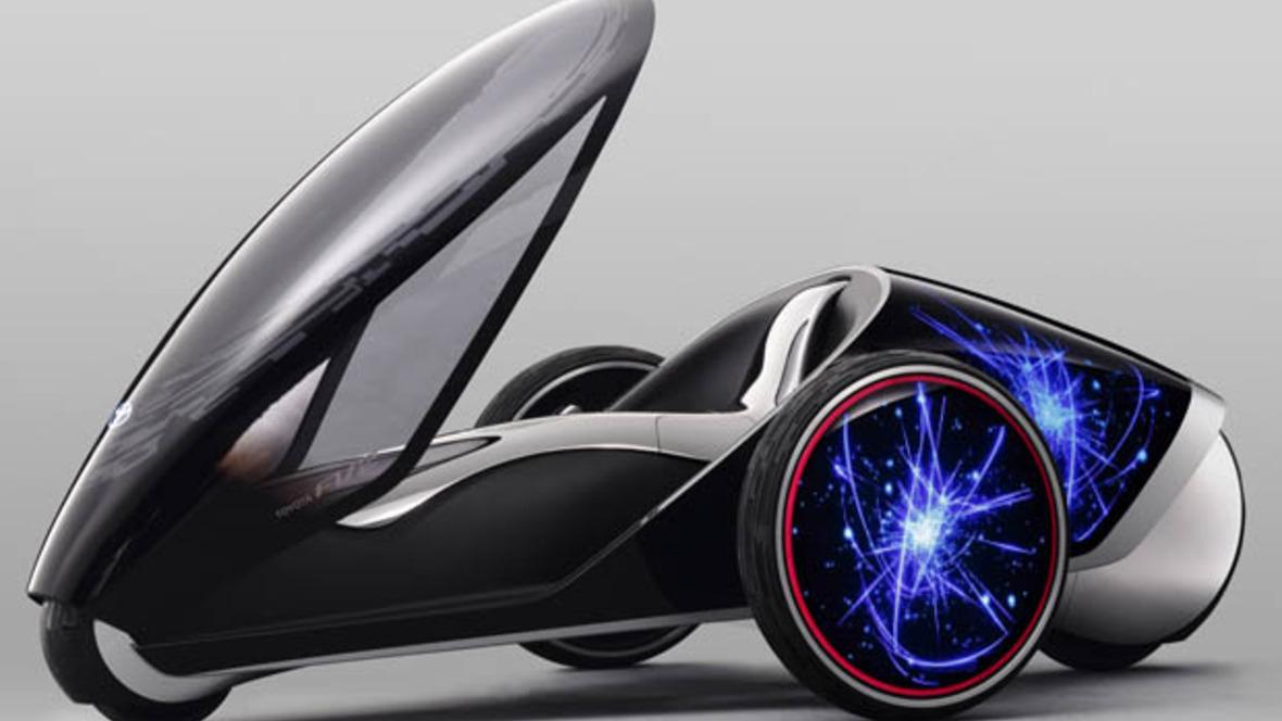 toyota zeigt futuristischen einsitzer. Black Bedroom Furniture Sets. Home Design Ideas