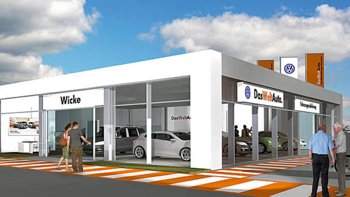 autohaus wicke baut neuen gw park. Black Bedroom Furniture Sets. Home Design Ideas