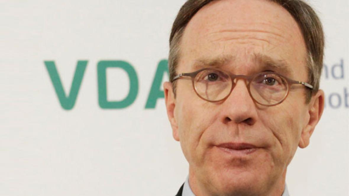 VDA-Präsident Matthias Wissmann