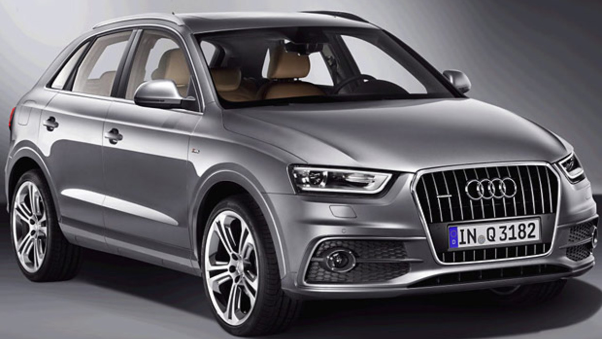 das ist der neue audi q3. Black Bedroom Furniture Sets. Home Design Ideas