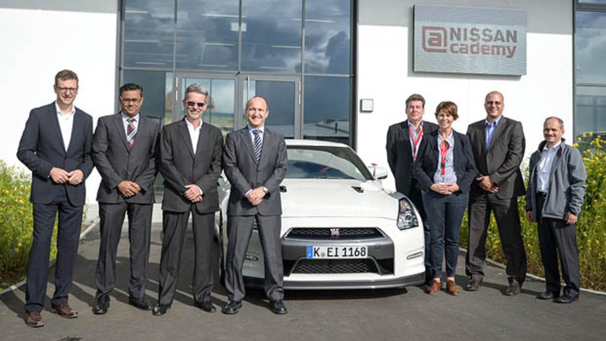 neues schulungszentrum für nissan - autohaus.de