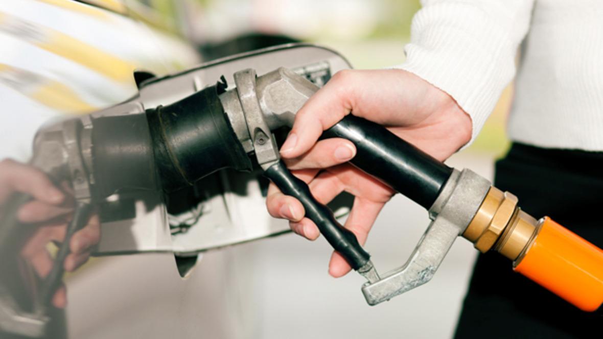 Autogas LPG Tankstelle Zapfpistole
