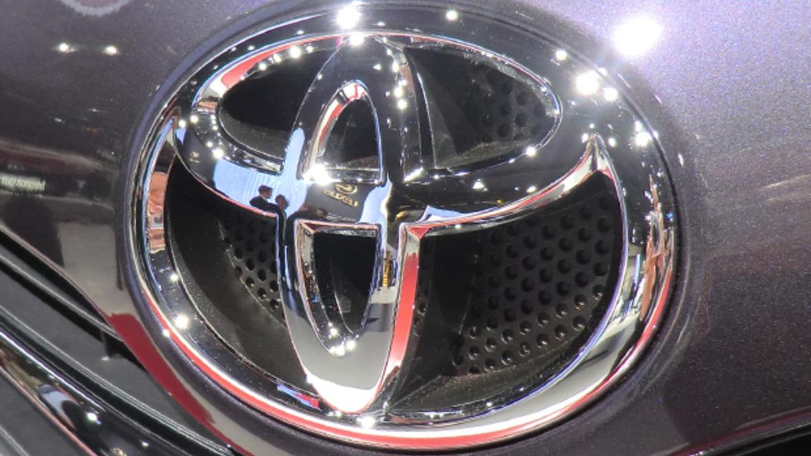 Toyota Logo Fahrzeug