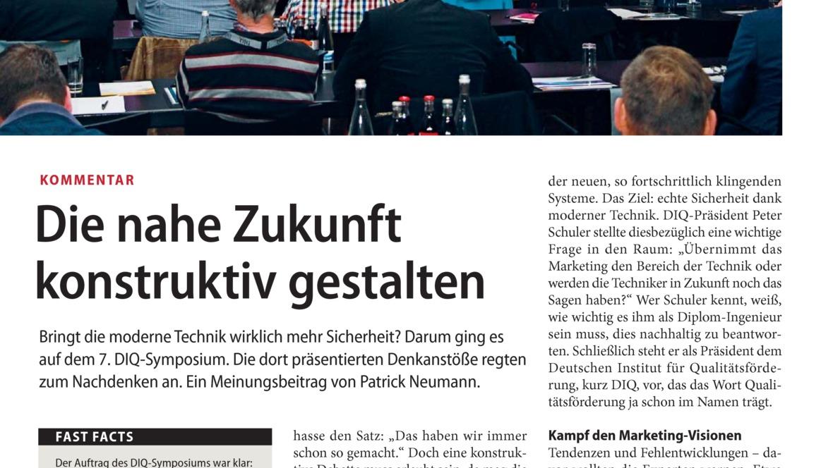 Die nahe Zukunft konstruktiv gestalten - autohaus.de