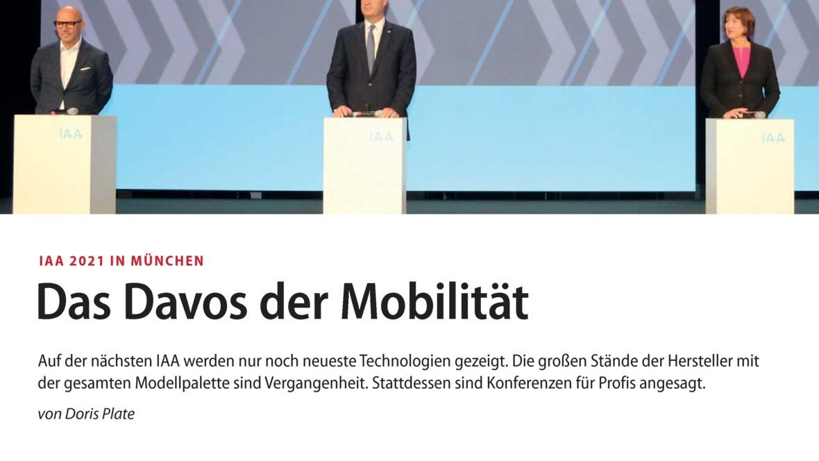 Das Davos der Mobilität