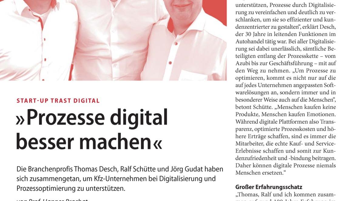 'Prozesse digital besser machen'