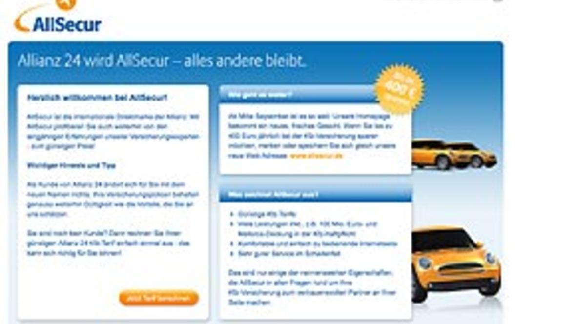 Versicherung Allianz 24 Nachfolger Ist Online Autohaus De