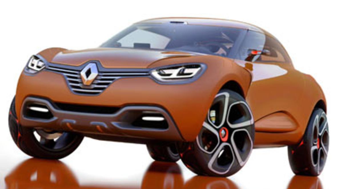 renault crossover studie captur. Black Bedroom Furniture Sets. Home Design Ideas