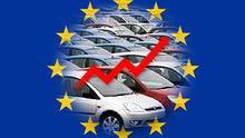 Europas Automarkt wächst