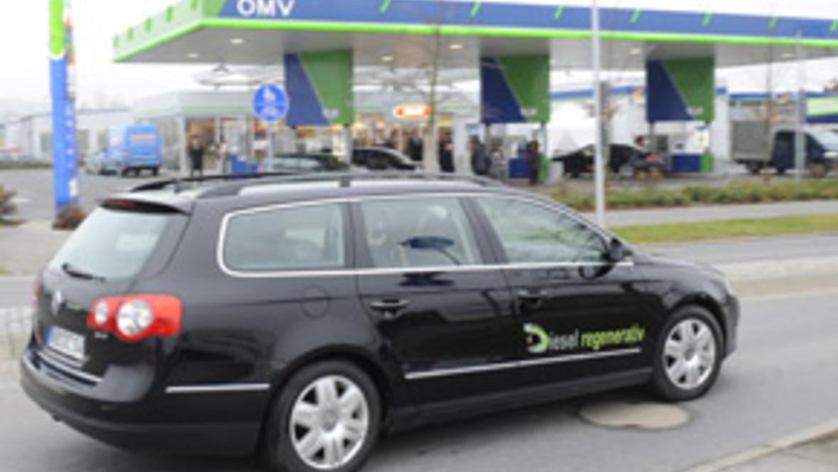 Diesel regenerativ Flottenversuch Coburg