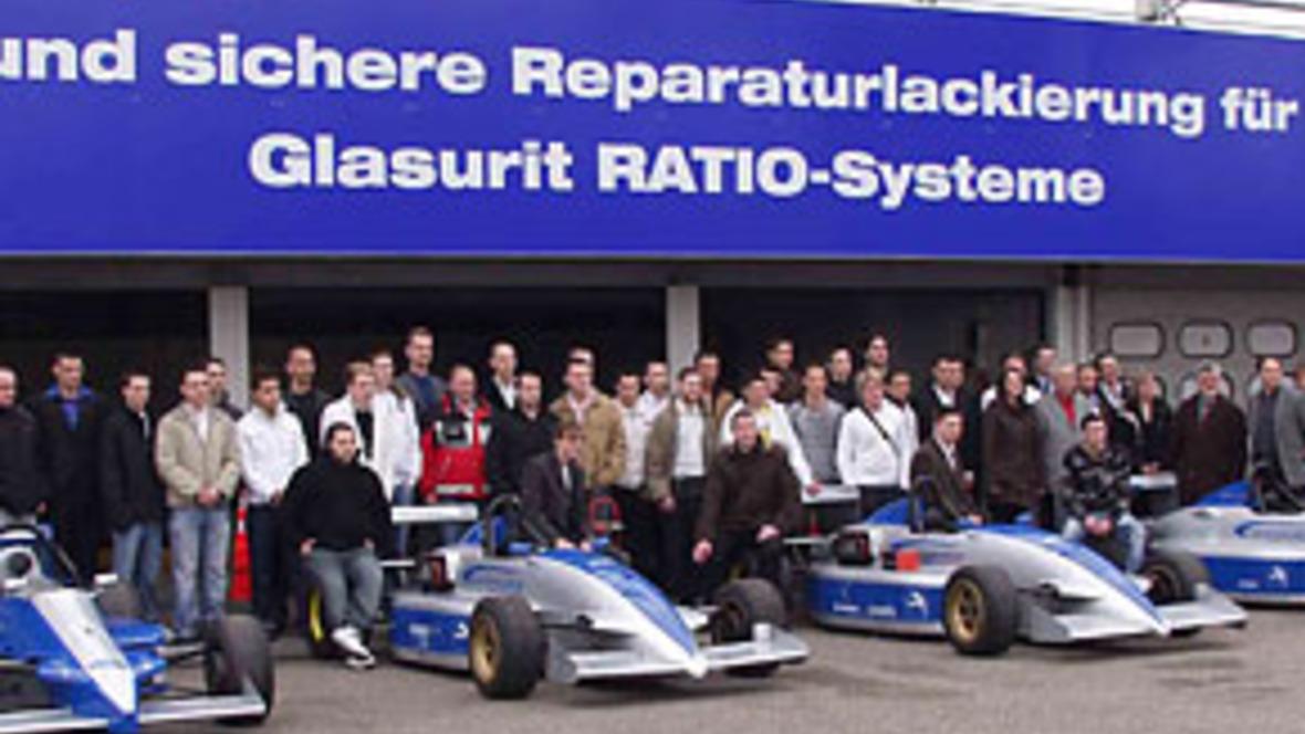 Silberblaue Flitzer für den Hockenheim-Ring - autohaus.de