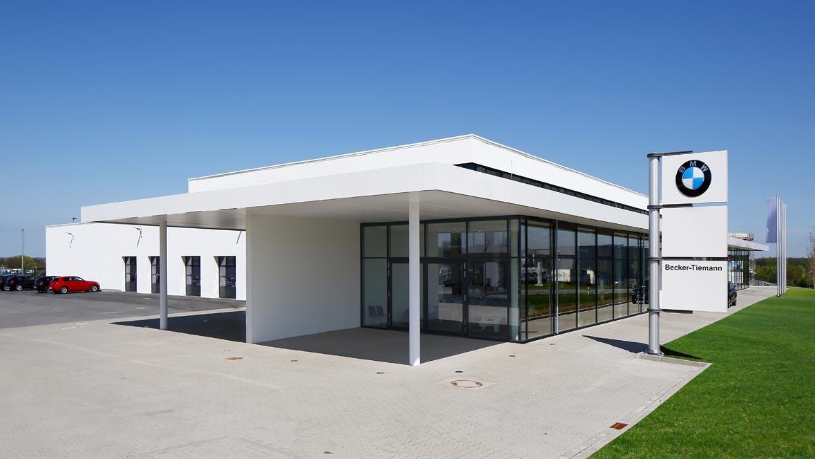 Neues Bmw Autohaus In Bielefeld Autohausde