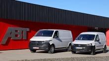 ABT VW Caddy und T6.1 Elektrifizierung