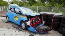 ADAC-Crashtest Kleinstwagen