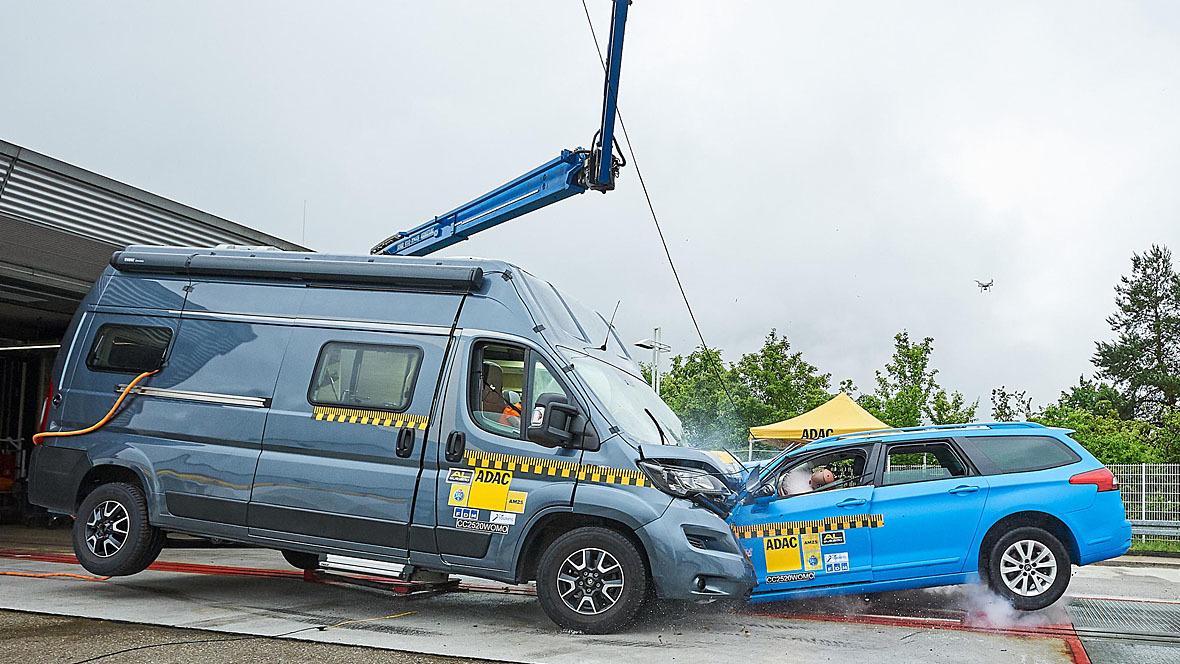 ADAC Crashtest Wohnmobile