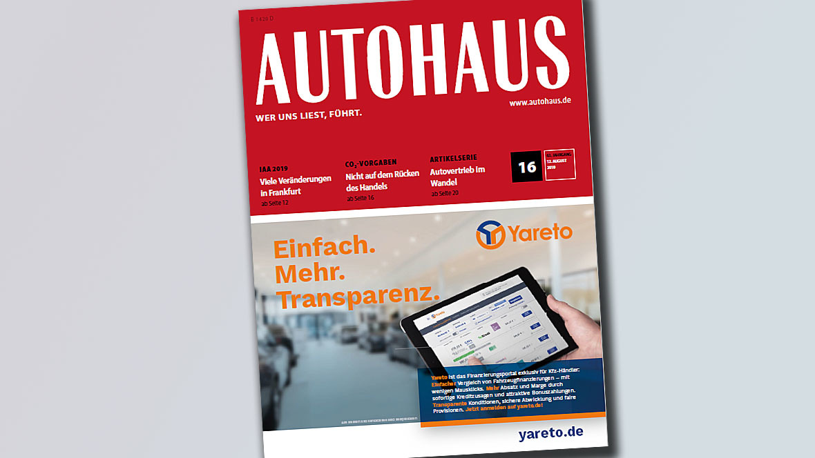 AUTOHAUS Cover 16/2019