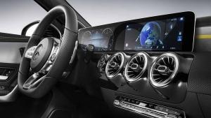 Mercedes-Benz A-Klasse Innenraum (2018)