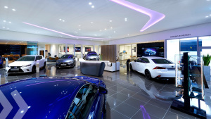 Lexus Showroom-Design von Arno