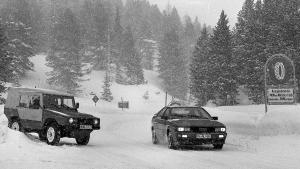 Audi Quattro VW Iltis