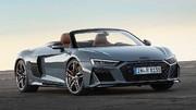Audi R8 Facelift Spyder (2019)