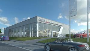 Neues Audi-Zentrum in Oberursel