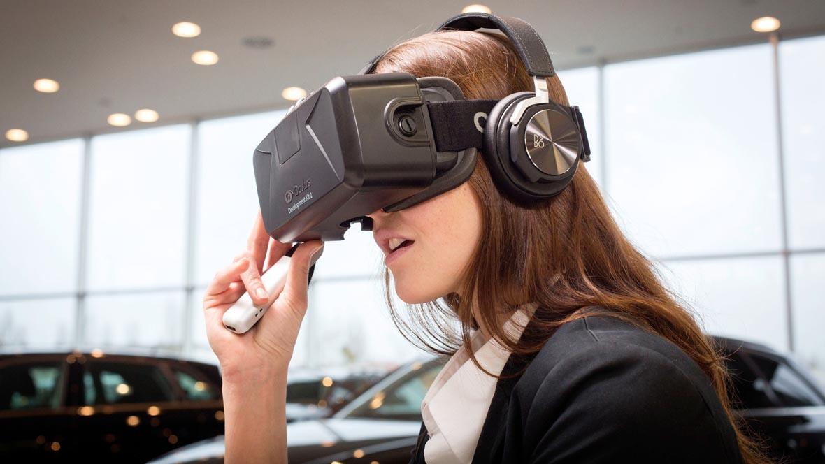 Audi Virtual Reality-Brille