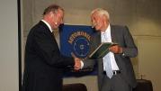 Prof. Willi Diez und Professor Hannes Brachat