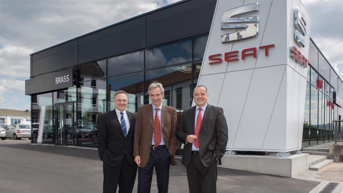 brass-gruppe eröffnet seat-autohaus - autohaus.de