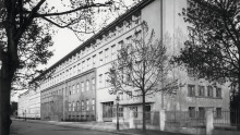 Neue Konzernzentrale der Auto Union ab 1936 in Chemnitz
