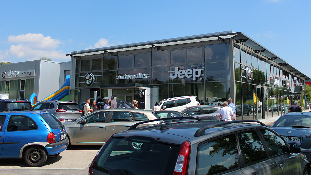exklusiver neubau für alfa romeo und jeep - autohaus.de