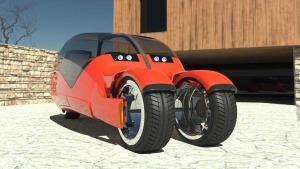 Auto Motorrad Lanesplitter Studie