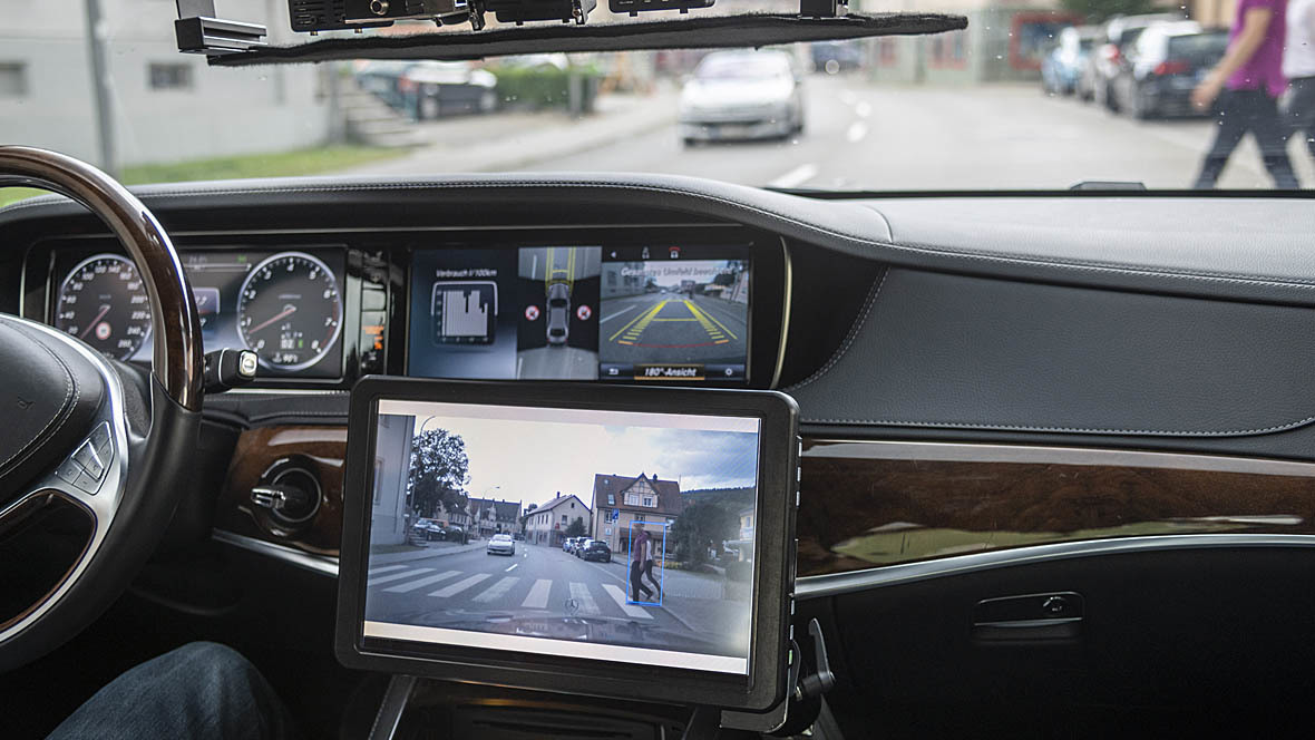 Autonomes Fahren Mercedes-Benz