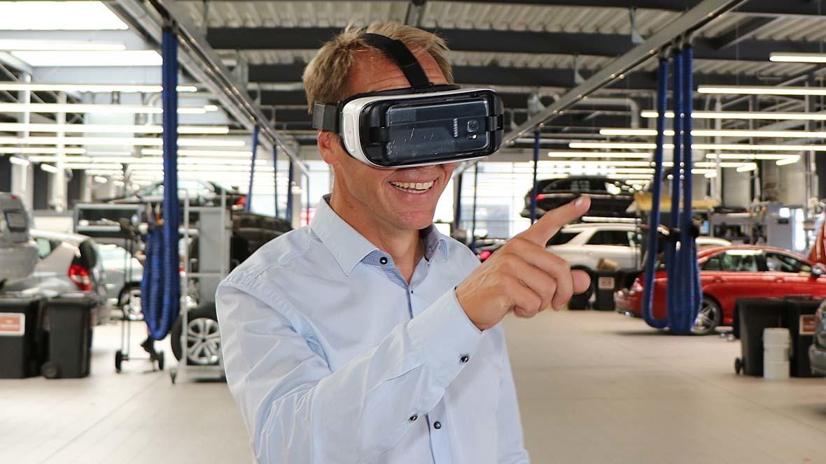 Autopstenhoj Virtual Reality