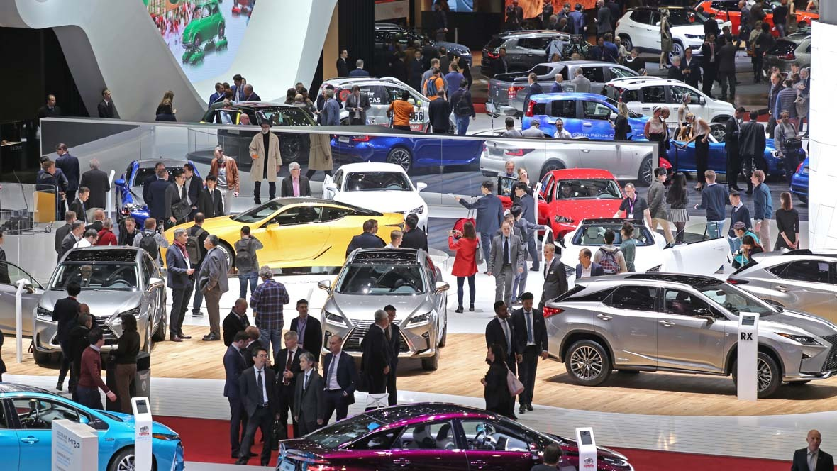 Impressionen Autosalon Genf 2017
