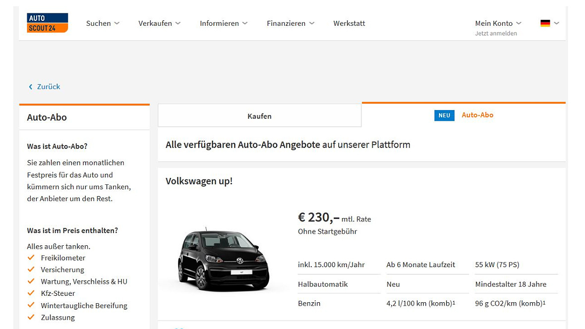 Mein autoscout24