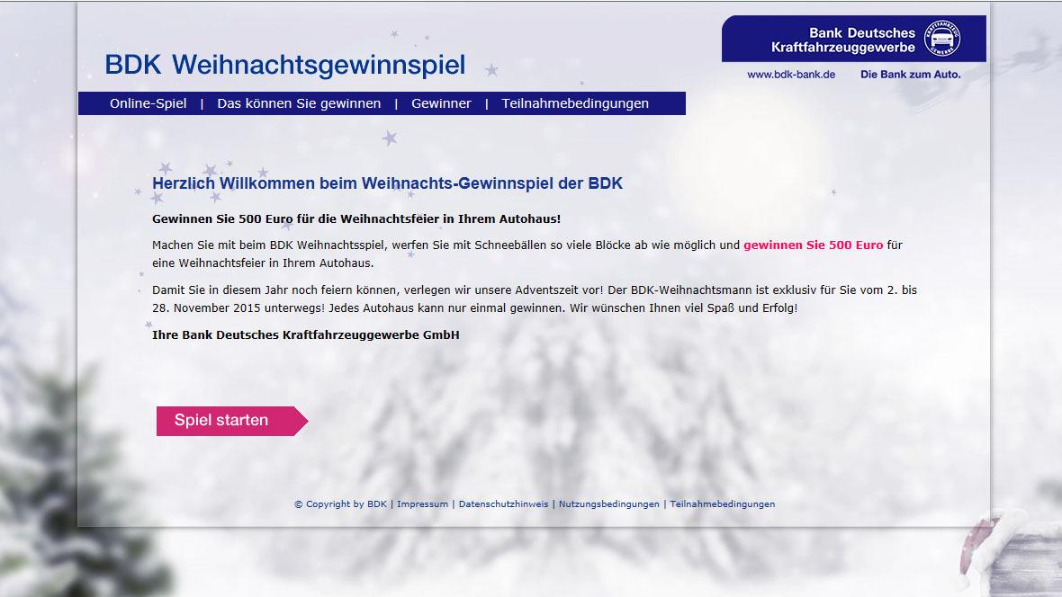 Spiele Für Die Weihnachtsfeier Im Betrieb.Gewinnspiel Bdk Unterstützt Autohaus Weihnachtsfeiern Autohaus De